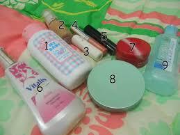 Satu Set Alat Make Up Wardah harga kosmetik wardah 1 set acne series package