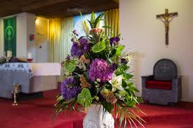 wedding flowers for church wedding flowers in church stock image image of altar 50490455