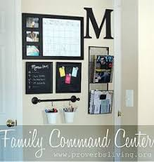 kitchen message center ideas 12 ways to beat counter clutter cricut organizing and spaces