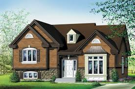 attractive 3 bedroom split level 80019pm architectural designs