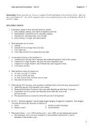 chapter 6 and 7 state and local government test study guide std