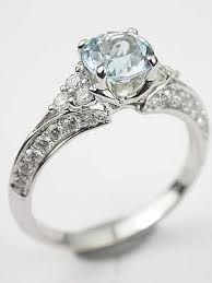 Aquamarine Wedding Rings by Wedding Rings Aquamarine Wedding Ring Unusual Aquamarine Wedding