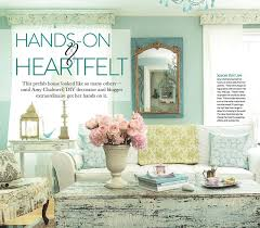 country home and interiors magazine maison decor my home makes the cover of romantic country magazine