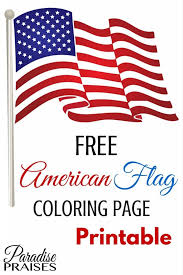 us flag coloring page american flag printable