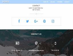 sports template responsive muse templates u0026 widgets