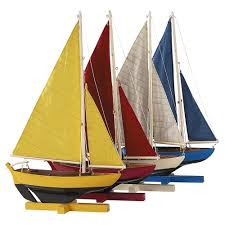 model boat ornaments decorative boats houseology