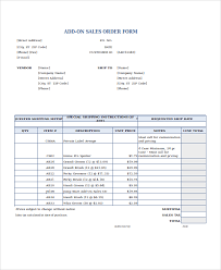 Excel Forms Template Excel Order Form Template 15 Free Excel Documents