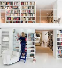 Library Bookcases With Ladder Home Library Bookcases With Ladder Interior Design Home