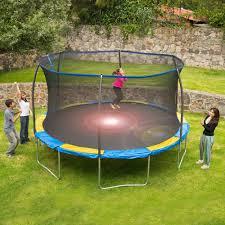14 u0026apos trampoline with flash light zone and enclosure walmart com
