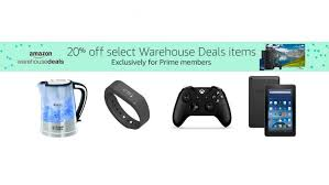 amazon 2017 black friday video game deals 20 off amazon warehouse range for prime members from jelly deals