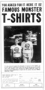 Vintage Halloween T Shirts Blood Curdling Blog Of Monster Masks December 2011