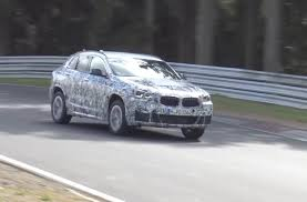 bmw x2 prototype spotted previews new compact sporty suv video