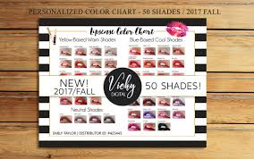 new lipsense color chart 50 lipsense colors lipsense color