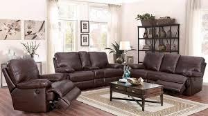 Top Grain Leather Living Room Set Catterton 3 Top Grain Leather Power Reclining Living Room