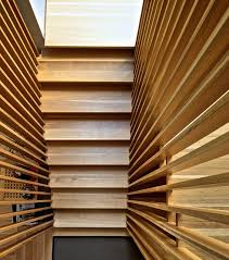 stair slats modern staircase toronto by andrew snow wood