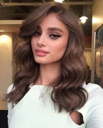 gorgeous hair i love the pretty brown color with what a gorgeous lady love the hair color and makeup pinteres