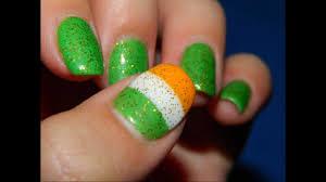 my march irish flag st patrick u0027s day nails youtube