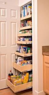 Kitchen Cabinet Pantry Ideas Roll Out Pantry Is A Great Solution For A Small Kitchen
