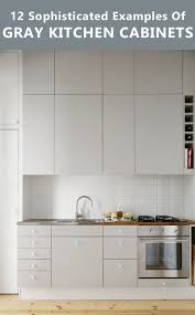 12 Kitchen Cabinet 12 Examples Of Sophisticated Gray Kitchen Cabinets Contemporist
