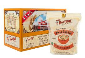 4 pack 40 oz bob u0027s red mill old country style muesli cereal