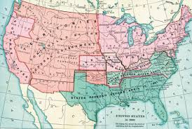 Civil War States Map Maps The Civil War Pbs Incredible Usa Map Confederate States