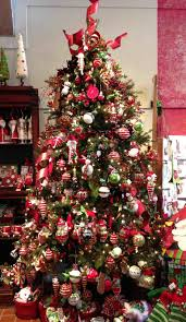 ornaments angled pink and green tree decorations gold