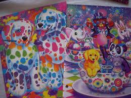 amazon com lisa frank 2 pocket folders pack of 2 designs may
