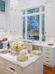 Cottage Style Kitchen - beautiful cottage style kitchen island and decor with wooden