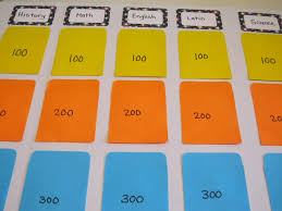 diy jeopardy board diy jeopardy board game templates and tools