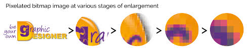 enlarged image demo are you feeling a bit pixelated vector graphics vs bitmaps