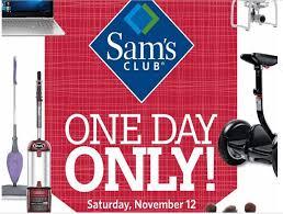 is sams club open on thanksgiving day sam u0027s club pre black friday sale november 12 online u0026 in store
