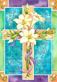 Religious Easter Yard Decorations by 46 Best Easter House And Garden Flag Images On Pinterest Garden