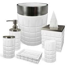 hotel ceramic bathroom accessories bedbathandbeyond com