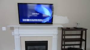 tv mounted above fireplace binhminh decoration