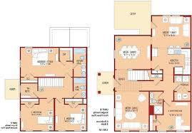 4 Bedroom Floor Plans Ranch by Home Design Amazing Condo House Plans 2 4 Bedroom Floor Within