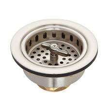 Strainer Basket With Wing Nut Stopper  Kitchen - Kitchen sink strainer