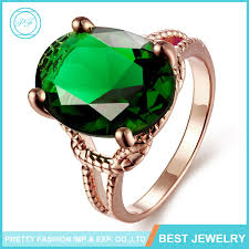 emerald rings wholesale images Latest design wholesale fashion jewelry 18k gold women big stone jpg