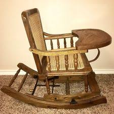 Antique Wood High Chair Antique High Chair Ebay