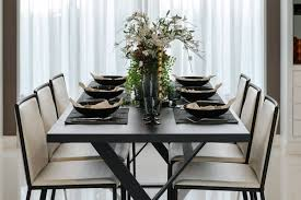 dining table center 27 modern dining table setting ideas