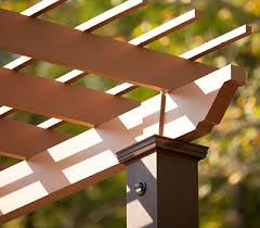How To Attach A Pergola To A Deck by Deck Lighting Post Lights Led Step U0026 Stair Lights Trex