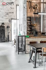 Modern Industrial Decor Loft Furniture Design Prepossessing Modern Industrial Loft With