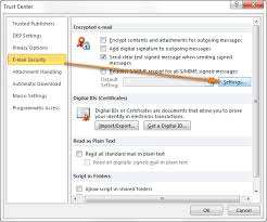 email encryption in outlook how to encrypt messages with digital id