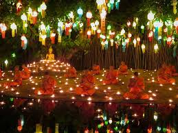 Festival Of Lights Thailand Buddhist Light Festival Shoos Away Bad Luck In Northern Thailand