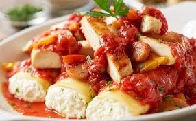 Olive Garden Five Cheese Marinara - every pasta dinner at olive garden ranked