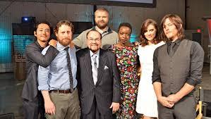 new walking dead cast 2016 walking dead cast to visit inside the actors studio on february 11