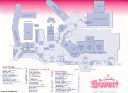 New Orleans Map Of Hotels by Las Vegas Casino Property Maps And Floor Plans Vegascasinoinfo Com