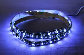 Blue Led Light Strip by Amazon Com Led Light Strip Dual Color Blue White Led Light