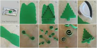 the partiologist oh christmas tree cookies