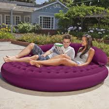 Blow Up Furniture by Review Intex Ultra Daybed Inflatable Lounge 75 X 21 Youtube