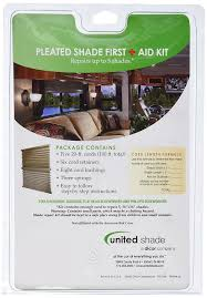 amazon com united shade 650000 pleated string first aid kit